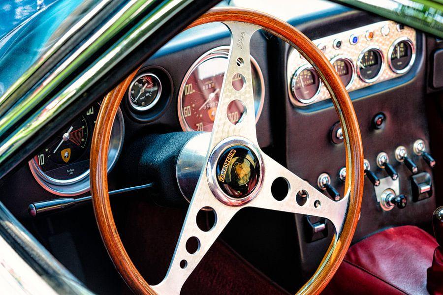 Lamborghini 350 GT dashboard van Sjoerd van der Wal