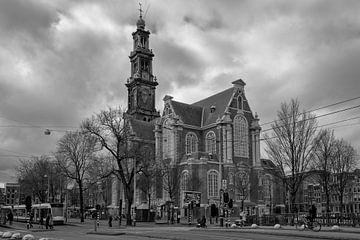 Westerkerk Amsterdam van Peter Bartelings Photography