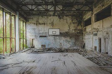 Salle de sport de Tchernobyl sur Perry Wiertz