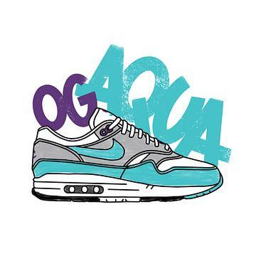 "Nike Air Max 1 ""OG Aqua"" von Pim Haring"