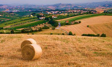 Landschap Abruzzo, Italië van