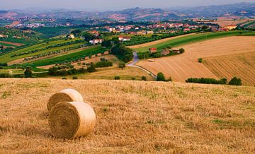 Landschaft Abruzzen, Italien von Vincent van Kooten
