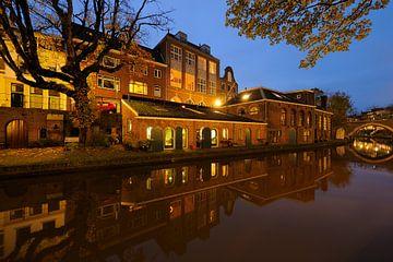 Voormalige bierbrouwerij de Boog aan de Oudegracht in Utrecht (3) von Donker Utrecht