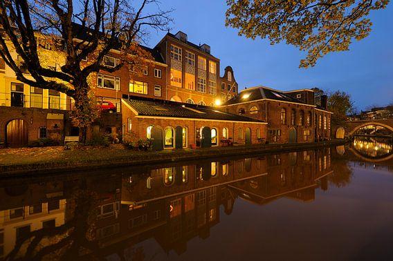 Voormalige bierbrouwerij de Boog aan de Oudegracht in Utrecht (3) van Donker Utrecht