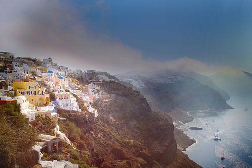 Santorini -the Caldera van