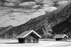 Winterlandschaft bei Farchant