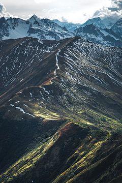 Route entlang der Bergspitze von WILD AMBASSADORS