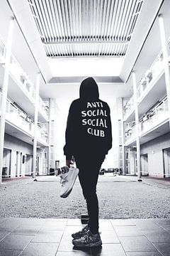 Anti Social Social Club  van