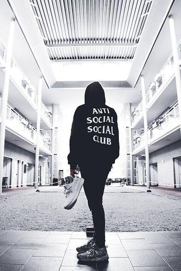 Anti Social Social Club  van Norbert de  Krijger