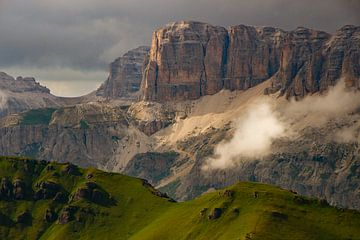 Sellamassiv in den Dolomiten von René Groenendijk