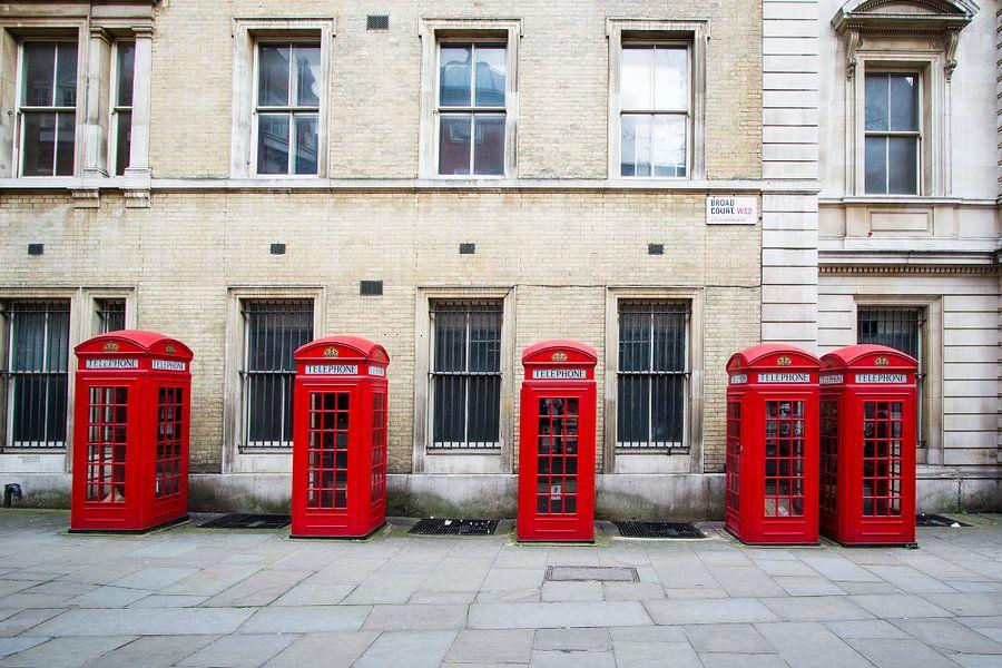 Telefoon cel Londen