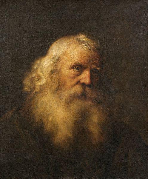 Porträt eines älteren Mannes mit Bart, Jan Lievens von Meesterlijcke Meesters