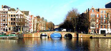 Nieuwe Keizersgracht Brug, Amsterdam von Laura Balvers