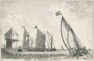 Bonaventura Peeters, Redout von Willemstadt - 1624-1652