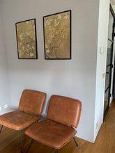 Klantfoto: Amandelbloesem van Vincent van Gogh (Oker) , op fotoprint