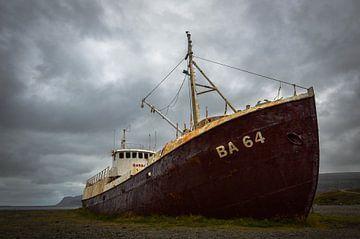 Verlassenes Schiffswrack von Marlies Reimering