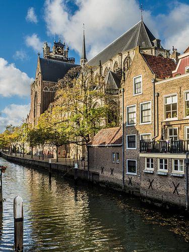 Grote Kerk en Pottenkade, Dordrecht