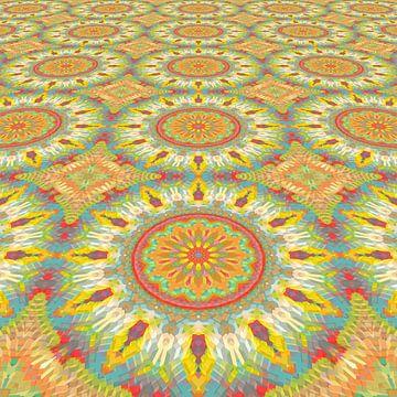 Printemps type Mandala sur Marion Tenbergen