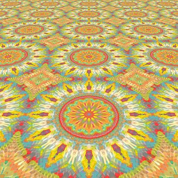 Mandala type lente van Marion Tenbergen