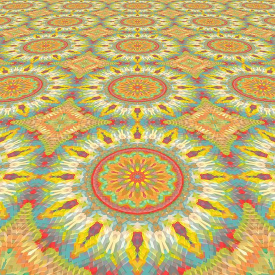 Mandala type lente