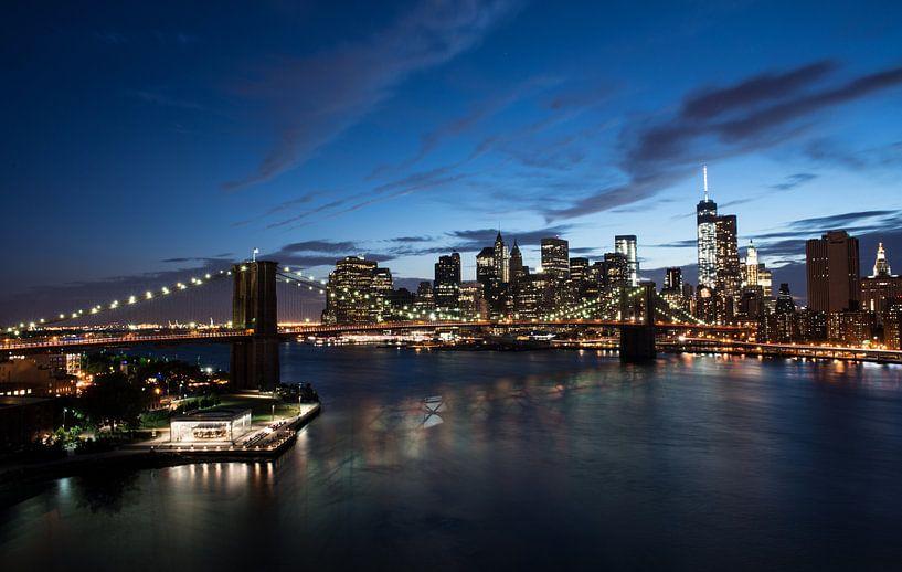 New York Stadsgezicht van Dennis Wierenga
