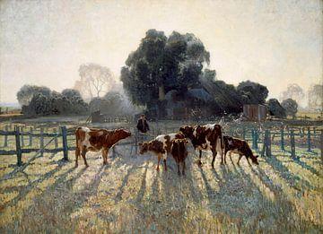 Voorjaarsvorst (Spring Frost), Elioth Gruner