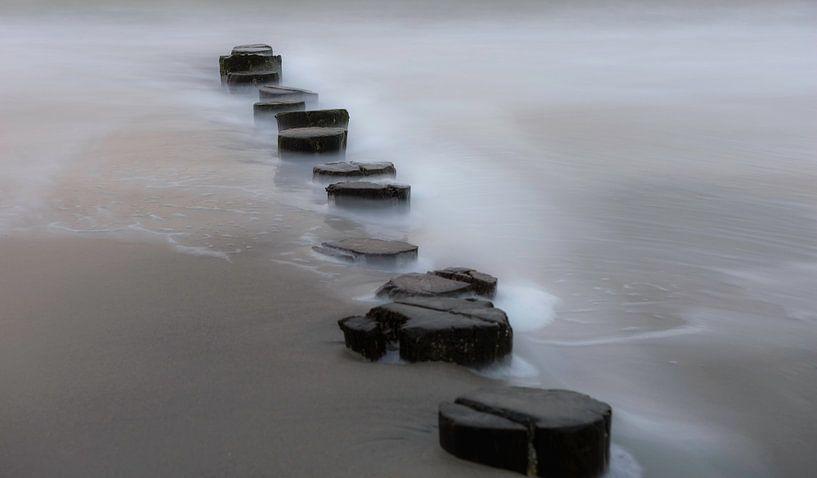 Zeeuws strand van Ben Willemsen