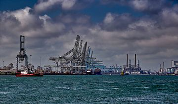 Der Hafen von Rotterdam von Robert Jan Smit