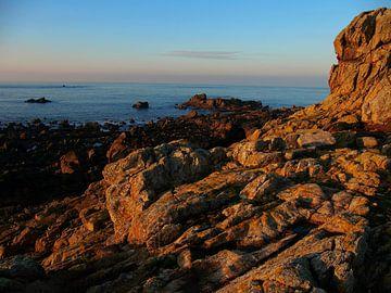 De kust van Guersney van BHotography