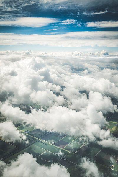 Nederland vanuit de lucht van Andy Troy