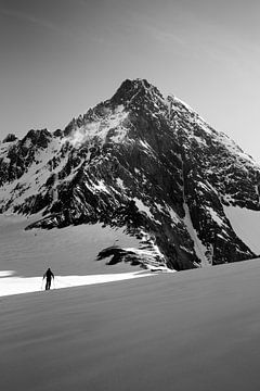 Grossglockner, hoogste berg van Oostenrijk van Hidde Hageman