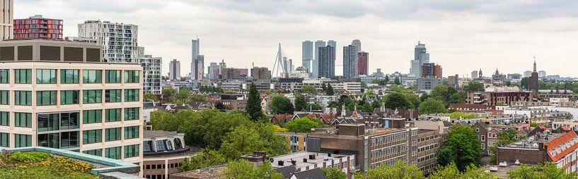 Rotterdam Skyline (Panorama) van Lorena Cirstea