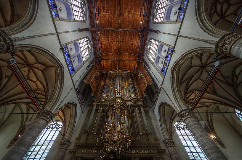 Grote Sint Laurenskerk Alkmaar van Mike Bing