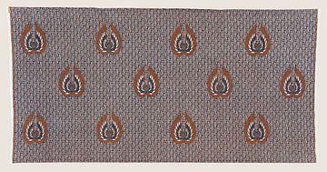 Vintage geometrisch Batik Sarong aus Java von Floris Kok