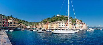 Portofino Toscane Italië van Fotografie Arthur van Leeuwen