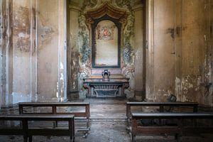 Kleine verlassene Kapelle.