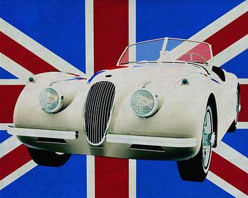 Jaguar XK voor de Union Jack