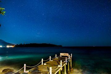 oceaan bij nacht sur Corrine Ponsen