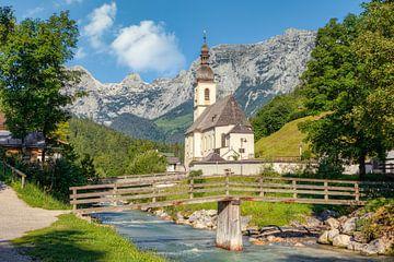Kirche in Ramsau bei Berchtesgaden von Michael Valjak