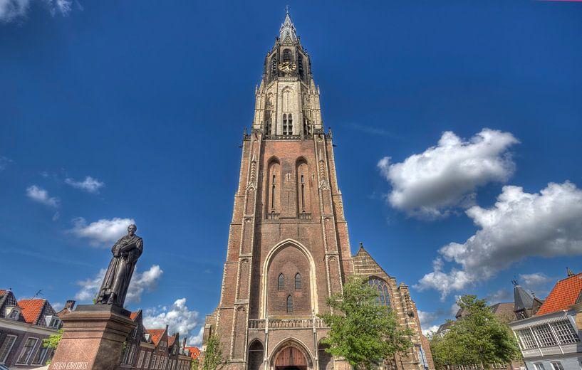 Nieuwe Kerk van Delft van Jan Kranendonk