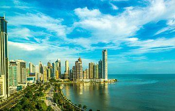 Panama Stad, Panama van Guenter Purin