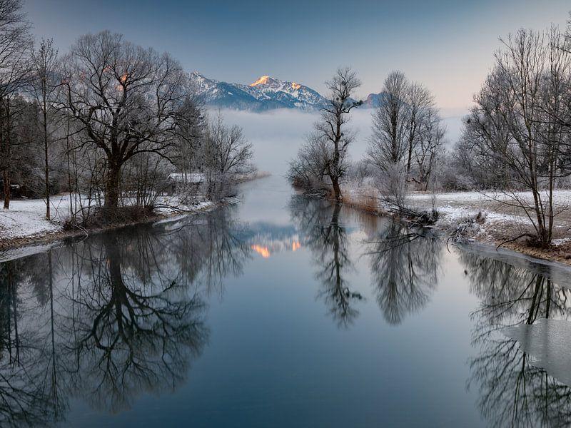 Winterstimmung am Kochelsee von Andreas Müller