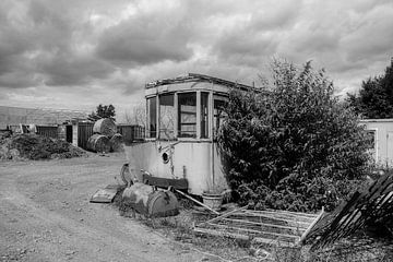 Stillgelegte Straßenbahn Belgien von Ann  Bourlard