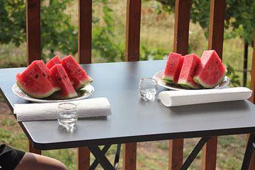 Watermeloen en brandewijn (Tsipouro) - Griekenland van ADLER & Co / Caj Kessler