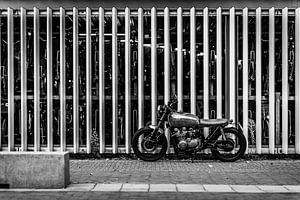 Oude motor van Bart Rondeel
