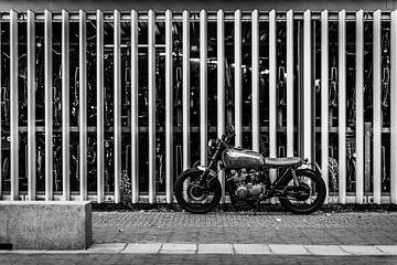 Altes Motorrad von