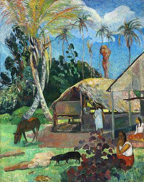 Die schwarzen Schweine, Paul Gauguin