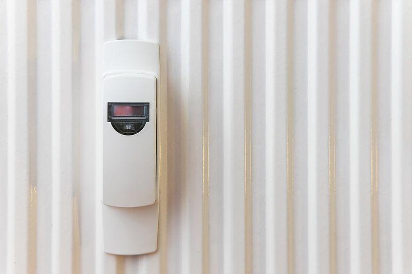 Compteur de coûts de chauffage sur un système de chauffage sur Frank Herrmann