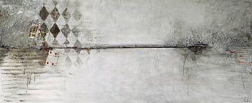 Ruitenkoning, rode ruitenkaart van Linda Dammann