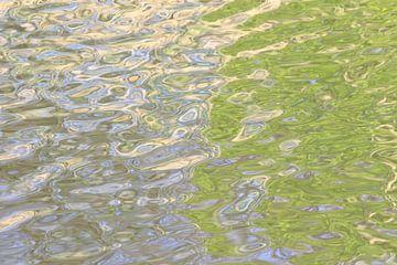 Réflexions sur l'eau 1 sur Gert van Lagen
